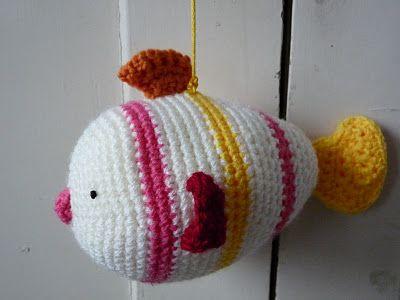 Fish crochet pattern CROCHET FISH & PECES Pinterest ...