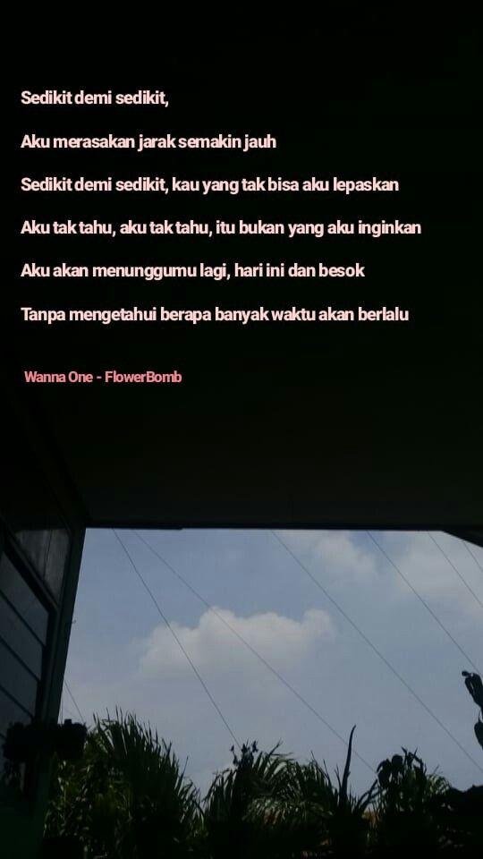 Wannaone Wannable Dengan Gambar Kutipan Lirik Tahu Kutipan
