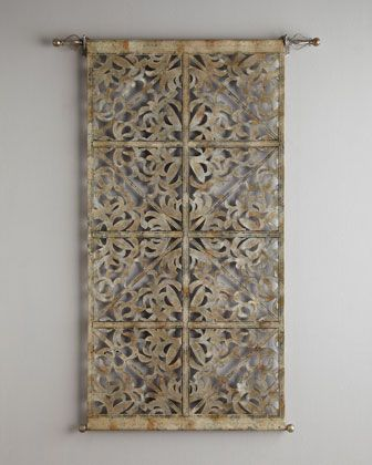 Laser Cut Leather Tapestry Neiman Marcus Well I Can