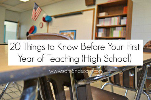 20 things to know before your first year of teaching!   Redwood Christian Schools
