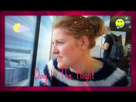 The Flight to Orlando Florida Vlog 2013 - YouTube