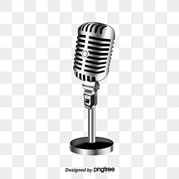 Cartoon Microphone Cartoon Microphone Gold Microphone Png Transparent Clipart Image And Psd File For Free Download Poster Background Design Cool Backgrounds Hologram Colors