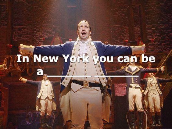 "Can You Finish The ""Hamilton"" Lyric"