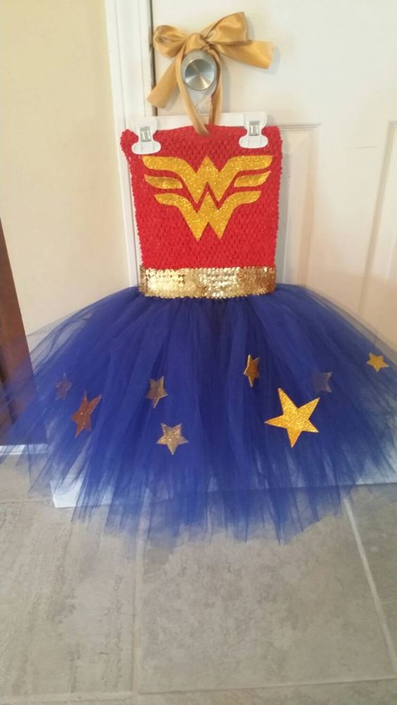 Wonder Woman Halloween Costume, Party Dress super hero, super hero girl costume, wonder woman tutu dress, girls costumes,  dress up girl by SamBowsBoutique on Etsy https://www.etsy.com/listing/249073338/wonder-woman-halloween-costume-party