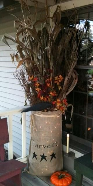 Large burlap lighted bad $49.95( contents not included)