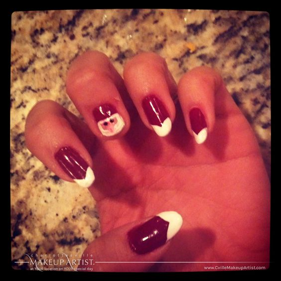 adorable santa nail art design for christmas 2013 2014 checkout this cute blog to find