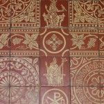 Minton Tiles - Church of St Mary the Virgin, Shrewsbury, Shropshire.