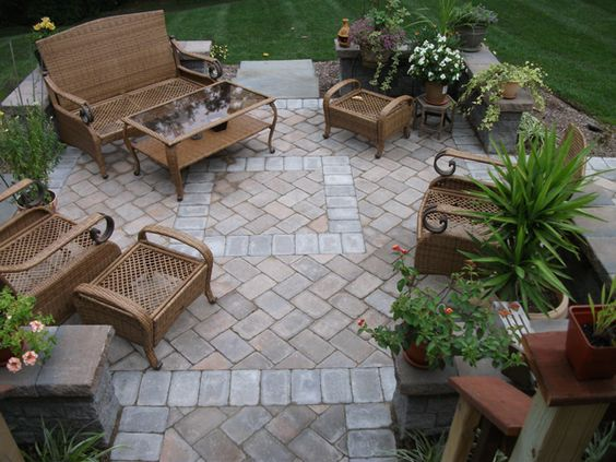 Furniture Patio And Furniture Arrangement On Pinterest