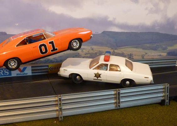 Slot chase cars