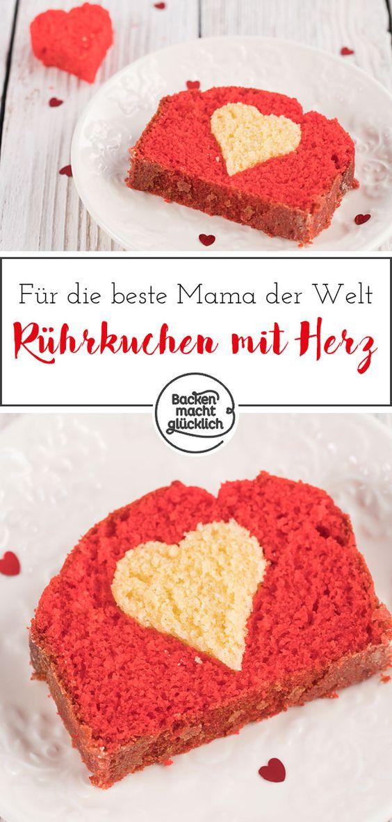 Ruhrkuchen Mit Herz Backen Macht Glucklich Rezept In 2020 Muttertagskuchen Muttertag Kuchen Kuchen