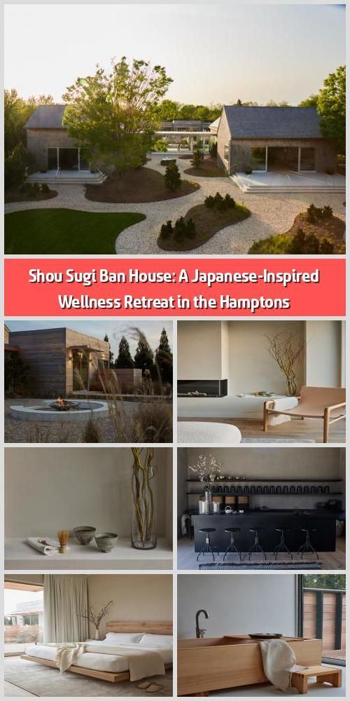 Shou Sugi Ban House A Japanese Inspired Wellness Retreat In The