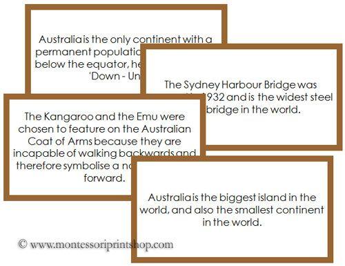 Number Names Worksheets montessori free printable materials : Montessori, Fun facts and Australia on Pinterest