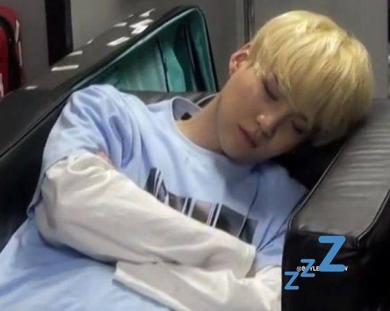 Yoongs sleeping ♡(ŐωŐ人)
