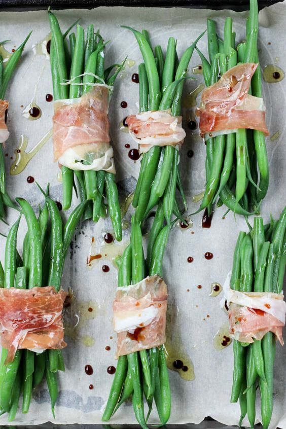 Prosciutto Wrapped Balsamic Green Beans | Recipe | Balsamic Green ...