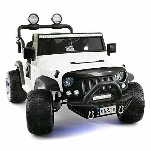 Kids Ride On Wild Jeep 12v Battery Power Car Children Electric White Rc Led Toy Modernokids Kidsrideon Wildjeep 12v Battery Powered Car Kids Ride On Car