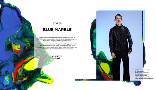 "Oki-Ni Styled AW14 ""Blue Marble"" Editorial"