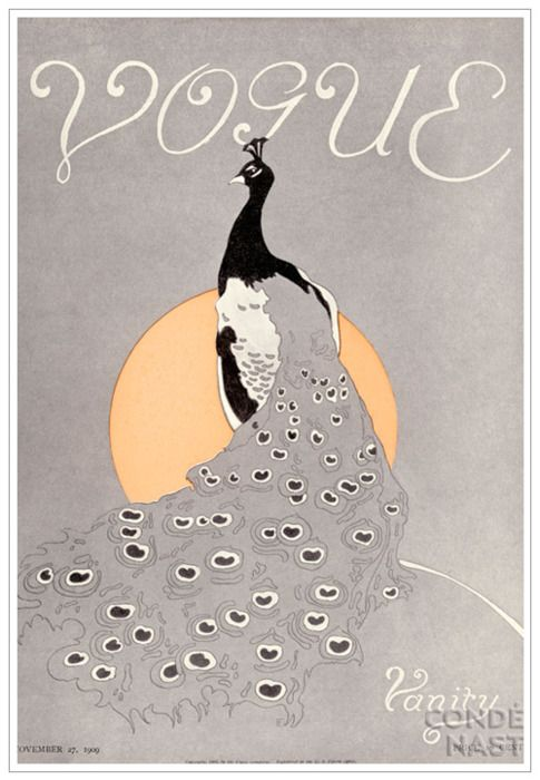 Vintage Tells A Story: Vogue Covers from the 1900's