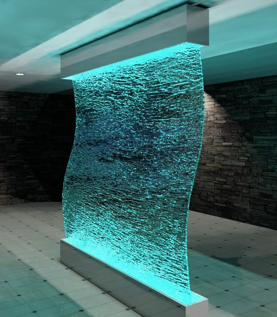 indoor waterfall - Google Search