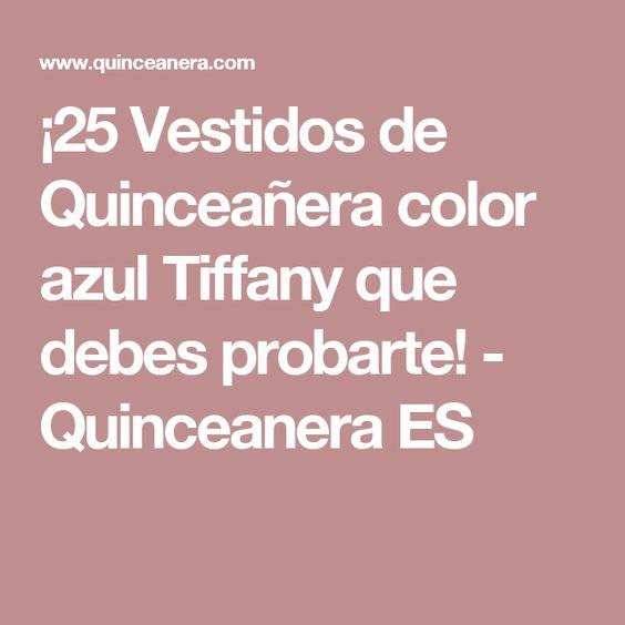 ¡25 Vestidos de Quinceañera color azul Tiffany que debes probarte! - Quinceanera ES
