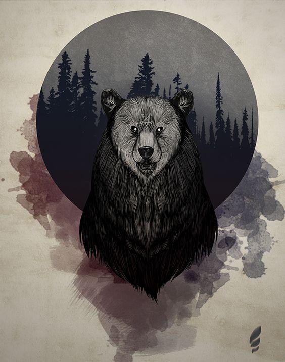 Unnatural Entity - Bear on Behance