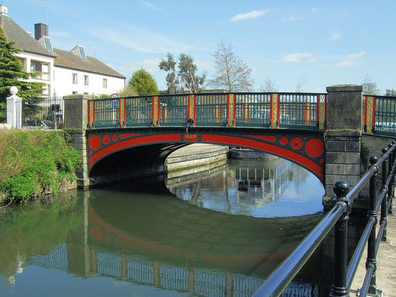 The Town Bridge (Looking Upstream) Over The Little Ouse River,Thetford - Norfolk. | Flickr - Photo Sharing!