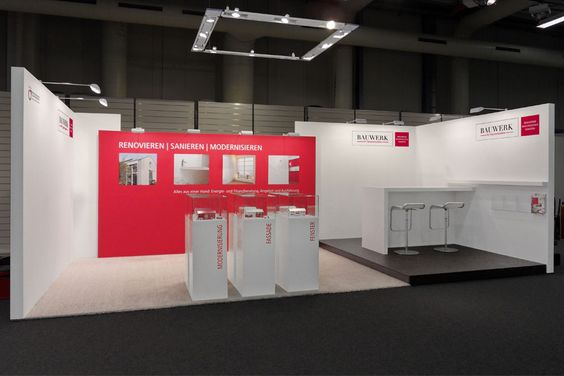 Trade fair booths and product exhibitions from 1 to 1000 square meters–customized for your business