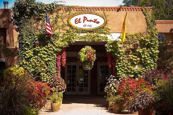 El Pinto Restaurant, Albuquerque, NM. Voted best New Mexican food in Albuquerque. Julia Roberts, George & Laura Bush frequent... Visit Santa Fe, The City Different, Charming 2 bedroom adobe in town - walking distance to the plaza.  #VacationRental in Santa Fe, New Mexico. Available October, November, December 2016. Great winter rates https://www.airbnb.com/rooms/2562597