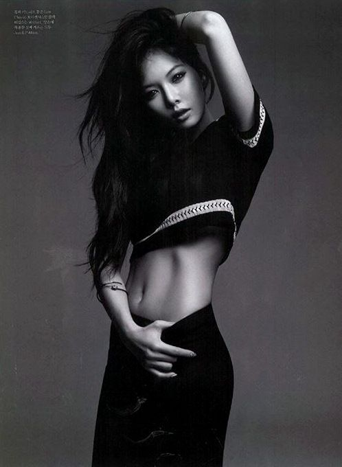 Hyuna // Elle Korea // July 2013