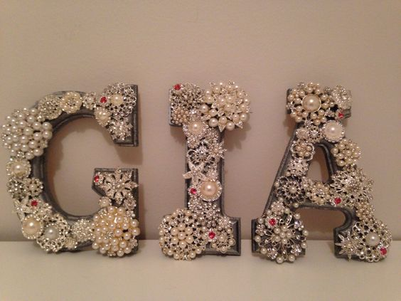 Baby wall letters