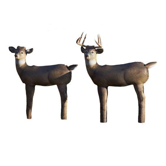 Cherokee Sports HairLite Convertible Deer Decoy