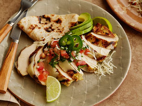 The Pioneer Woman's Tequila Lime Chicken. This marinade is awesome! And the Monterey jack really puts the chicken over the top!