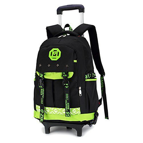 Garçon Trolley Bag Cadeaux Rentrée Scolaire Sac à Dos avec