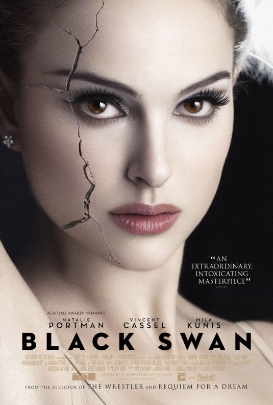 """Black Swan: A ballet dancer wins the lead in """"Swan Lake"""" and is perfect for the role of the delicate White Swan - Princess Odette - but slowly loses her mind as she becomes more and more like Odile, the Black Swan."""