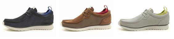 Außergewöhnliche Herren Sneaker, inspiriert vom Clarks Originals Wallabee, Clarks Tawyer Lo, 99,95 Euro: http://www.clarks.de/p/26102831