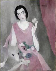 A beautiful Marie Laurencin painting