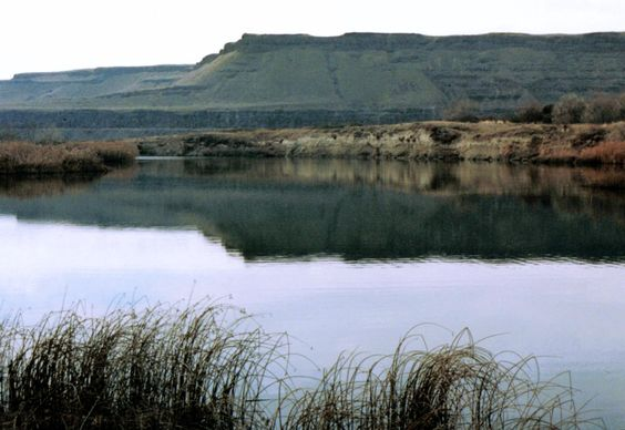The bluffs on the Snake River - near where Holly finds Marcy's body
