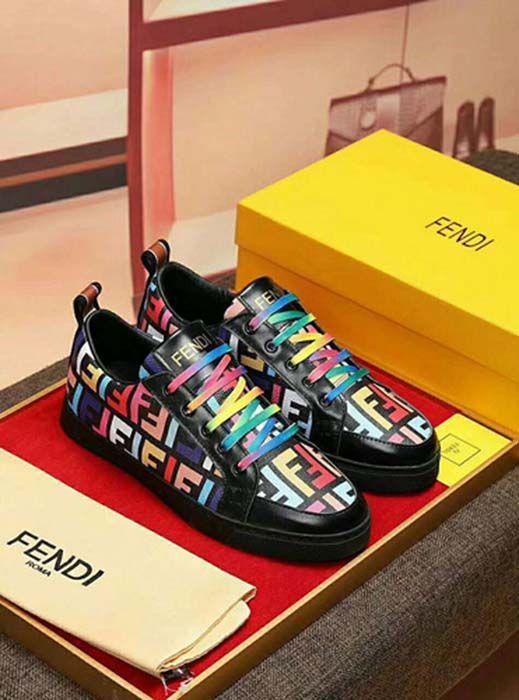 Fendi New Fendi Men Shoes Size 3844 P65