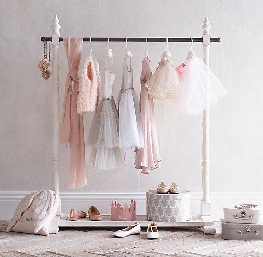 Diy Child Clothes Rack: Mini Wardrobe Rack. Turn Playtime Into Glam Time