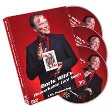 Remarkable Card Magic (3 DVD Set) by Boris Wild - DVD