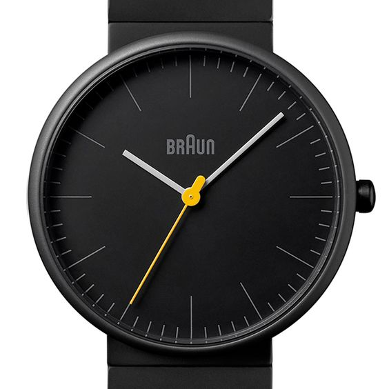 The BN0171 has three hand quartz movement, a ceramic case and a yellow seconds ticker adding a touch of colour to the simple face. #watches #design