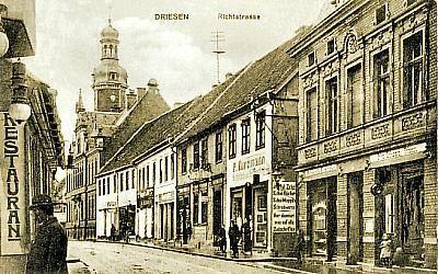 Driesen -- Richtstraße