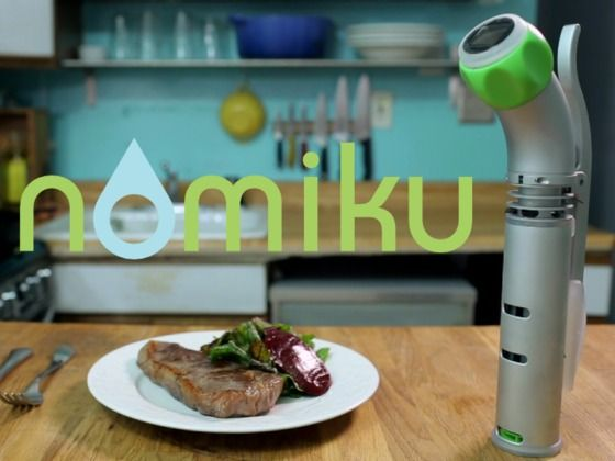 Team Pebble's pressed for time (got watches to build) but still gotta eat, so we're digging Nomiku on Kickstarter. Sous vide for the masses!
