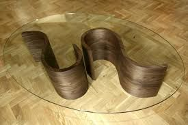 Image result for large oval glass coffee table