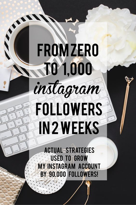 ZERO to 1000 Instagram Followers in 2 weeks! This step-by-step guide is foolproof. Really easy to follow and produces real results! You will LOVE it!