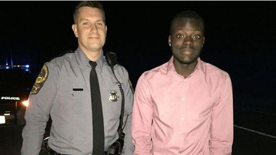 Worried Va. mom's Facebook post thanking cop goes viral - CBS News