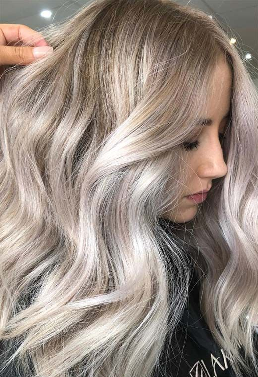 Mother Of Pearl Hair Trend 53 Iridescent Pearl Hair Colors To Dye