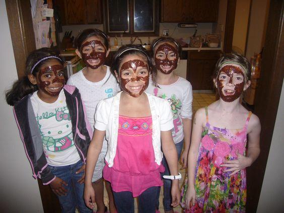 Chocolate Facials