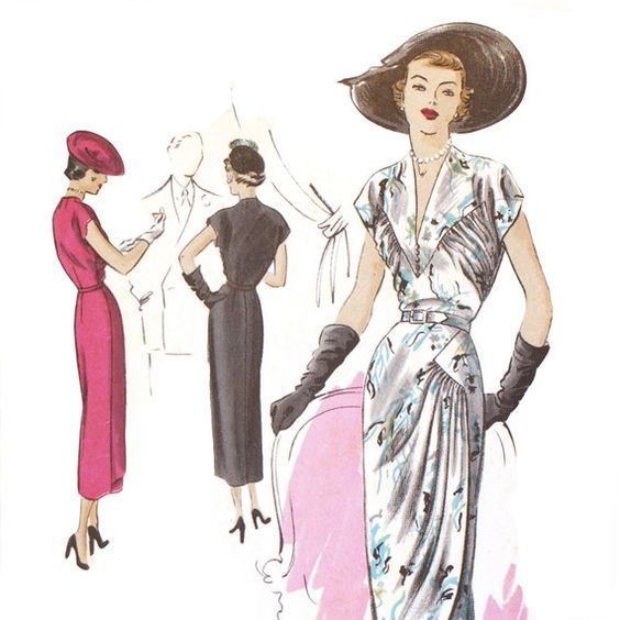 patrons vintage !  Patrons couture  Pinterest  Mariage, Vintage and