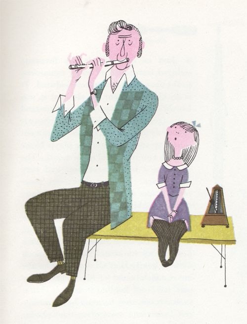 What makes an orchestra, written and illustrated by Jan Balet in 1959.