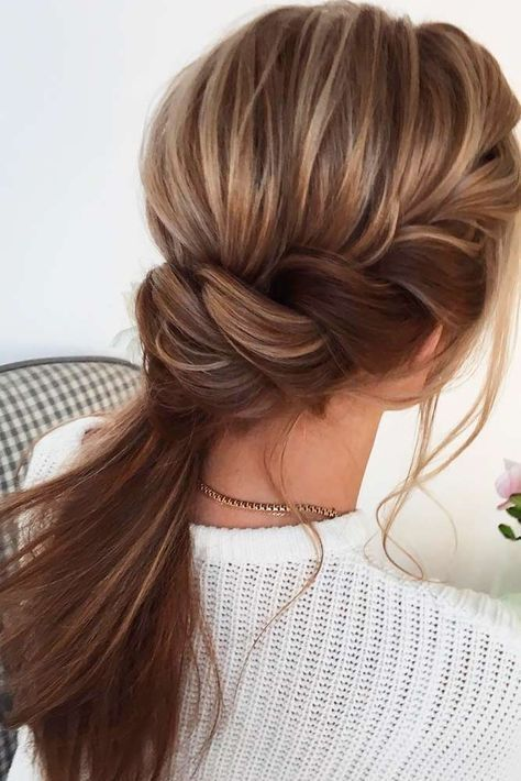 Wedding Hairstyle Discover Recipes Home Ideas Inspiration And Other Ideas To Try Discover Hairst Hair Styles Long Hair Styles Medium Length Hair Styles
